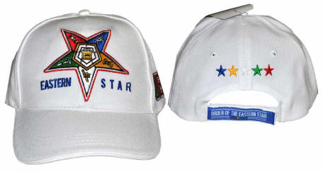 708a9fd09d1 Order of the Eastern Star Cap