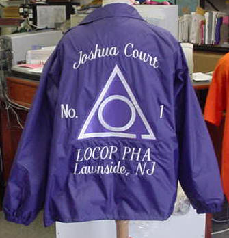 LOCOP coach's jacket