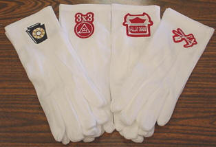 New Royal Arch gloves: Keystone, 3x3, Ark, RAM tools