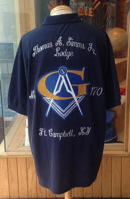 Themaac prince hall specialties for Order custom polo shirts