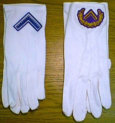 Worshipful Master and Grand Master gloves